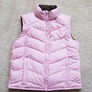 Women's reversible Columbia vest